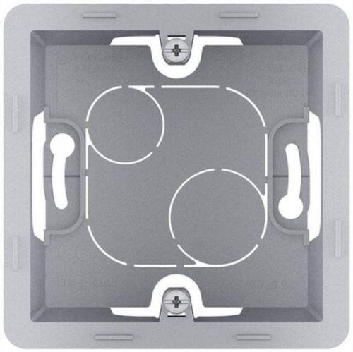 Коробка Legrand 673982 Inspiria алюминий накладного монтажа - 1 пост