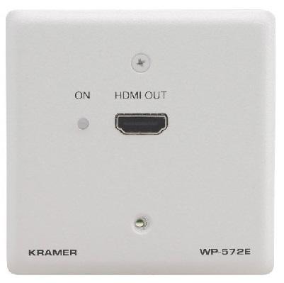 Приемник Kramer WP-572E(W)-86 50-80171490 HDMI по витой паре DGKat, цвет белый