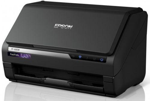 Сканер Epson FastFoto FF-680W B11B237401 потоковый А4 с Wi-Fi