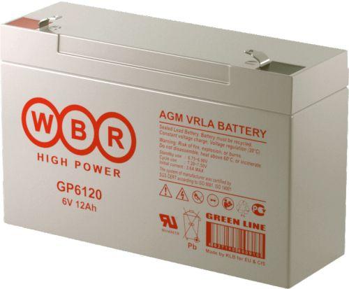 Аккумулятор WBR GP6120 GP 6120 WBR 6В, 12Ач
