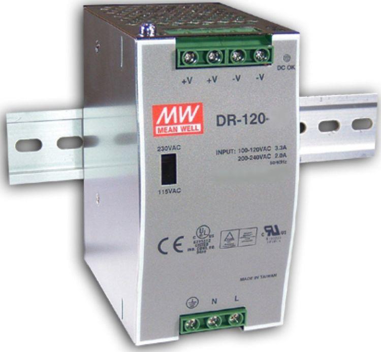 Преобразователь AC-DC сетевой Mean Well DR-120-12