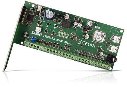 Комплект SATEL SET PERFECTA 16-WRL/A (плата охранной сигнализации на 16 как беспроводных так и проводных зон, OPU-4 Р - пластиковый корпус, ANT-GSM-I