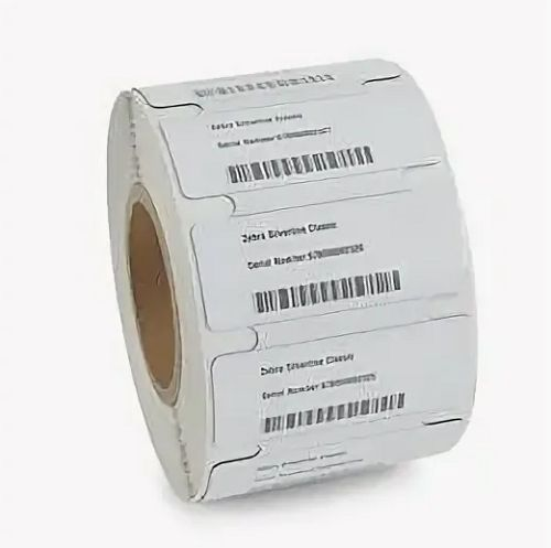 Метка Zebra 10027757 RFID UHF Confidex Silverline M4i (100x40x1,1 мм.)
