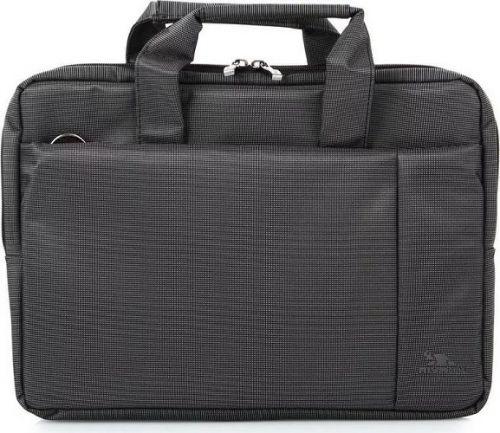 Фото - Сумка для ноутбука Riva 8221 991925 13,3, черный, полиэстер сумка для ноутбука 16 riva 8290 полиэстер черный