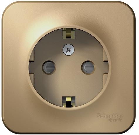 Розетка Schneider Electric BLNRA011114 с/з со шторками 16А, 250В, изолир. пластина Титан наруж розетка 2 ая se blanca наруж титан с з со шторками 16а 250в изолир пластина арт se blnra011214