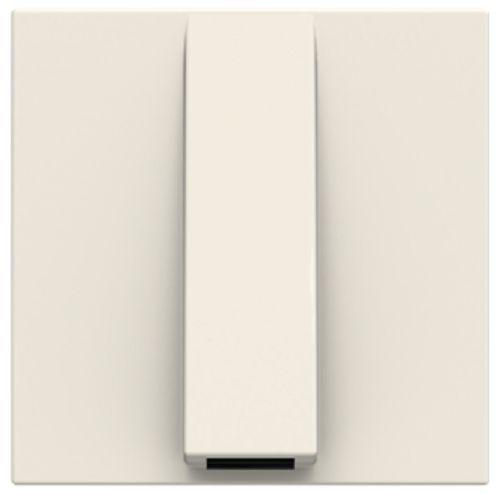 Панель лицевая ABB 2CLA220700N1101 вывод кабеля, 2 мод белый