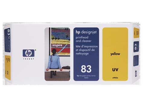 Картридж HP C4963A № 83 Желтая печатающая головка для принтеров HP DJ 5000 серии