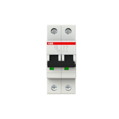 Автоматический выключатель ABB 2CDS252001R0255 S202 2P 25А (B) 6kA