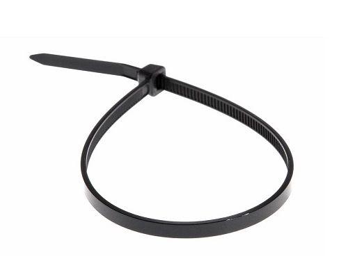 Хомут Rexant 07-0253 стяжка кабельная нейлоновая 250 x7,6 мм, черная, упаковка 100 шт. стяжка для рамы кровати усиленная черная al12r bl