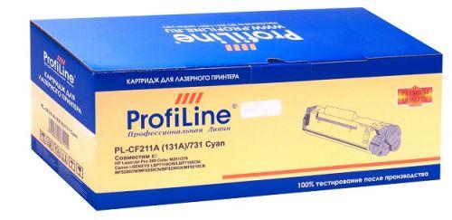 Картридж ProfiLine PL-CF211A/731-C PL-CF211A (131A)/731 для принтеров HP LaserJet Pro 200 Color M251/276 Canon i-SENSYS LBP7110CW/LBP7100CN/MF8280CW/M