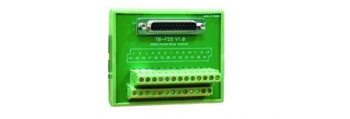 Переходник MOXA TB-F25 DB25 female DIN-Rail Wiring Terminal