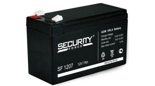 Аккумулятор Security Force 12 В, 7 Ач SF 1207 герметичный свинцово-кислотный