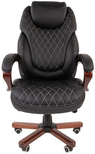 Кресло офисное Chairman 406 экопремиум черное