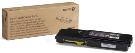 Картридж Xerox 106R02754 Тонер-картридж желтый (7K) WC 6655