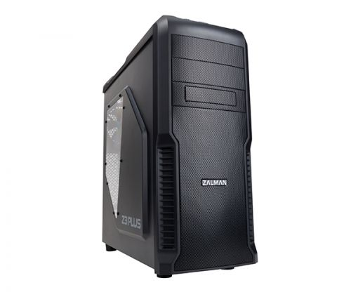 Корпус ATX Zalman Z3 Plus черный, без БП (4x120mm,USB2.0 x 2 + USB3.0,Audio) корпус atx zalman z3 iceberg без бп чёрный