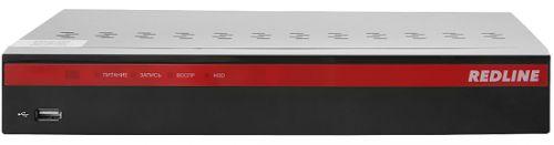 Видеорегистратор REDLINE RL-MHD8p 8-канальный Мультигибрид: AHD/HD-TVI/HDCVI/аналог/IP; Видео вход: 8 x BNC; IP-канал: 4 по умолчанию (до 16 Мбит/с) и