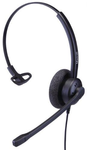 Гарнитура Mairdi MRD-609S для телефонов, проводная, моно, шумоподавление до 90%, HD аудио