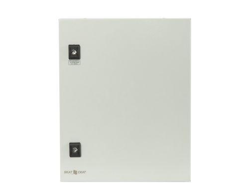 Шкаф Бастион СКАТ ШТ-5425 металлический уличный утепленный с автоматикой управления климатом, U-пит.170..250В, I-нагр.5А, P-нагрев.60В, выход