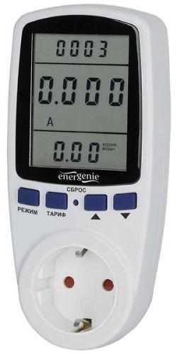 Измеритель мощности Energenie EHB12-1 16А, белый