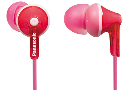 Наушники Panasonic RP-HJE125 розовые