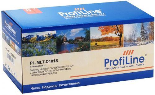 Картридж ProfiLine PL_MLT-D101S_New chip для Samsung ML-2160/ML-2162/ML-2165/ML-2167/ML-2168/SCX-3400/SCX-3405 (для аппаратов, выпущенных после 01.07.