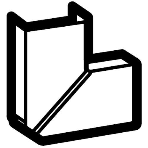 Угол плоский Legrand 33327 д/к-к 32х16