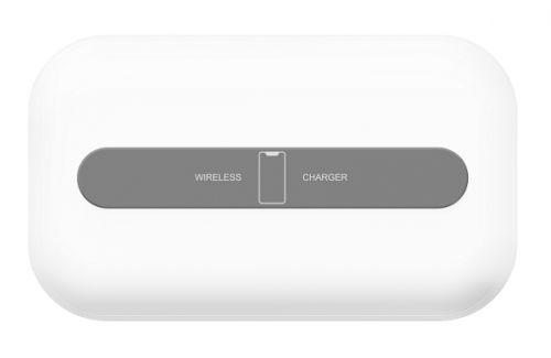 Зарядное устройство беспроводное Lyambda LNT5 для телефона, часов и наушников, белый