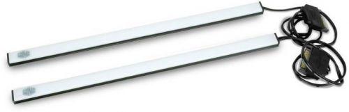 Подсветка Cooler Master MCA-U000R-BLS000 синяя, для корпуса, две светодиодные полосы с магнитным креплением, 400мм RTL