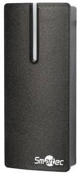 Считыватель Smartec ST-PR010MF58-BK расстояние считывания до 8 см, карты Mifare (7B UID), интерфейс Wiegand 58, 12 В, 50 мA, -45...+60 °С, 110х48х20 м