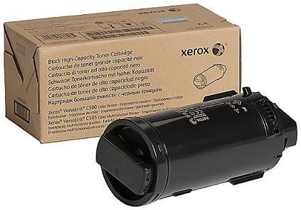 Тонер-картридж Xerox 106R03887 черный (12,1K) XEROX VL C500/C505 тонер картридж xerox 006r01374 черный 6279