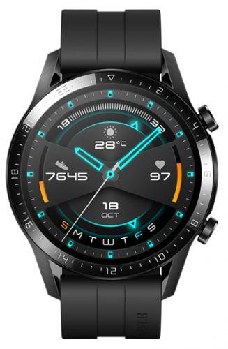 Часы Huawei Watch GT 2 Latona-B19S 1.39, черный/черный смарт часы honor watch magic 2 mns b19s 1 39 черный черный [55024945]