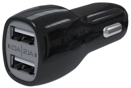 Зарядное устройство автомобильное Red Line AC2-20 УТ000015802 2 USB, черный