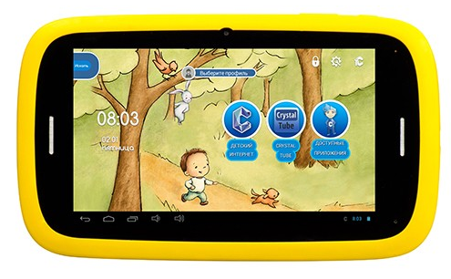 Qumo Kids Tab 2 4Gb Yellow-Blue