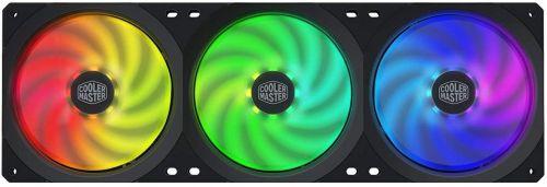Вентилятор для корпуса Cooler Master MasterFan SF360R ARGB MFX-B2D3-18NPA-R1 129 фут3/мин, 30 дБ