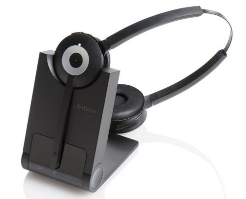 Гарнитура Jabra PRO 920 Duo 930-29-503-101 wireless NC, DECT, MS, два динамика, стационарный телефон стационарный