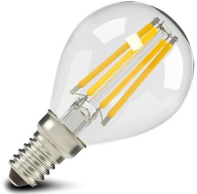 Лампа светодиодная X-flash 47635 XF-E14-FL-P45-4W-2700K-230V Е14, 4 Вт, 2700 К, 220 В, 500 Лм, прозрачная колба - шар лампа светодиодная x flash 48014 xf e14 fl p45 4w 4000k 230v е14 4 вт 4000 к 220 в 460 лм матовая колба шар