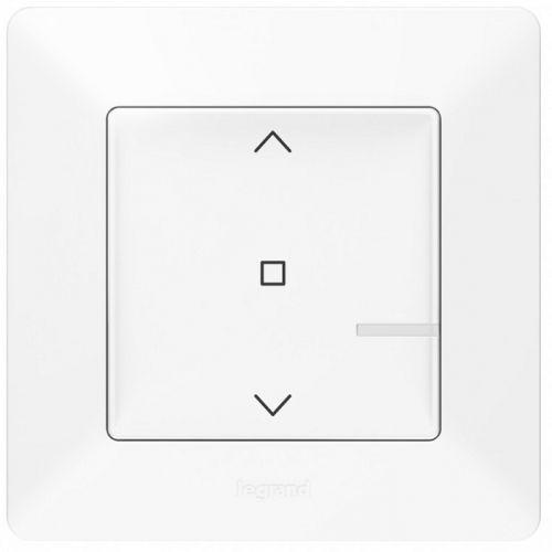 Выключатель Legrand 752190 Valena Life with NETATMO, умный выключатель рольставней 500 ВА 230В, белый