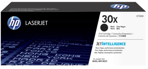 Картридж HP 30X CF230X черный для HP LJ Pro M203, M227 (3500стр.)