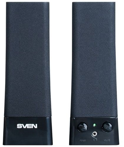 Компьютерная акустика 2.0 Sven 235 4 Вт, 100-20000 Гц, черные