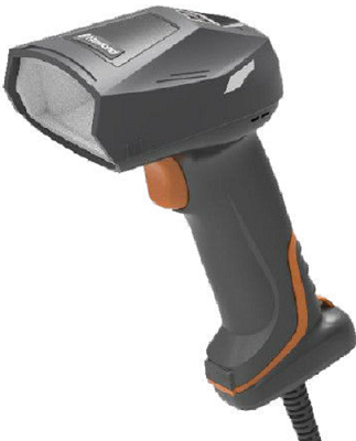 Сканер штрих-кодов Newland NVH300 Angler 2D CMOS Mega Pixel Industrial Handheld Reader, High Density, 3 Color LED, with 2 mtr. USB cable.