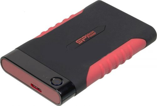 Silicon Power Внешний жесткий диск 2.5'' Silicon Power SP020TBPHDA15S3L 2TB A15 Black & RED Anti-shock USB 3.0