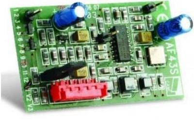 Плата CAME AF43RU радиоприемника 433 МГц, для брелков TOP-432EE, TOP-434EE, TAM-432SA