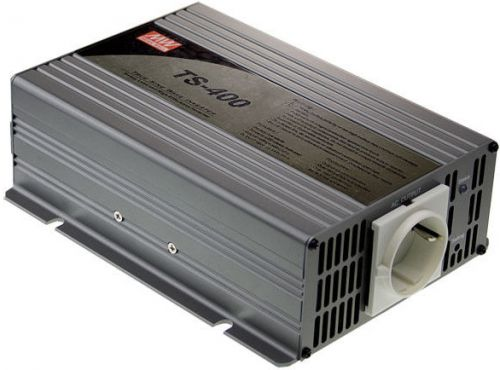 Преобразователь напряжения DC-AC инвертор Mean Well TS-400-212B вых: 400 Вт; U вх: 12 В; U вых: 230 В; Форма: чистый синус
