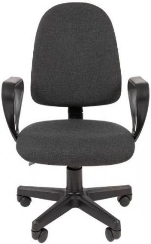 Кресло офисное Chairman Стандарт Престиж Chairman 7033363 ткань С-2 серый