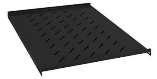 Фото - Полка Cabeus SH-J018-FC-600m-BK 19 перфорированная глубиной 400 мм для напольных и настенных шкафов шкафов глубиной 600 мм, цвет черный (RAL 9004) полка twt twt cbw s4 6 60 для настенных шкафов глубиной 600 мм 4 точки нагрузка 60 кг