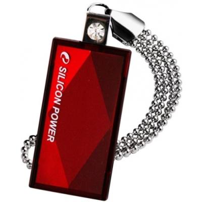 Фото - Накопитель USB 2.0 64GB Silicon Power Touch 810 SP064GBUF2810V1R красный накопитель usb 2 0 32gb silicon power touch 810 sp032gbuf2810v1b синий