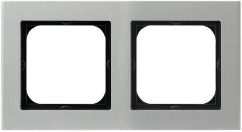 Рамка Ospel R-2RA/35 двойная, алюминий