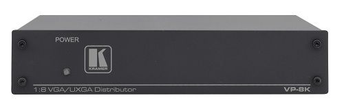 Усилитель-распределитель Kramer VP-8K 51-70806090 1:8 VGA, 370 МГц c технологией KR-ISP™