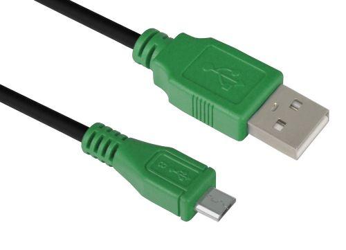 кабель интерфейсный usb 2 0 gcr gcr ua5mcb1 bb2s 0 5m gcr micro 0 5m черный синие коннекторы 28 28 awg am microb 5pin экран армированный мороз Кабель интерфейсный USB 2.0 GCR GCR-UM3M5P-BB2S-0.3m ,12031,mini USB , черный, зеленые коннекторы, 28/28 AWG AM / mini 5P, экран, армированный, морозо