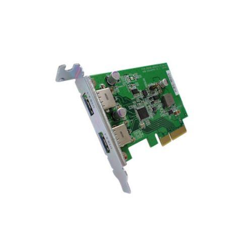 cfast card reader usb3 1 dual port usb a usb c portable gen2 10gbps cfast reader Карта расширения QNAP USB-U31A2P01 USB 3.1 Gen 2 10Gbps Type-A Dual-port PCIe Card (w/o USB cabe)